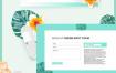 9款高端饮品网页设计模板PSD素材源文件打包下载,提供psd格式的源文件ui设计素材下载