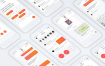 高品质的聊天社交UI源文件设计精品素材下载