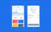 金融科技应用app界面设计UI工具包素材下载