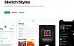 39个音乐类基于iOS 11的ui设计精品素材下载