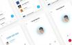 聊天APP应用UI设计素材工具包下载