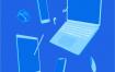 32个电脑科技主题等距视图插画矢量源文件打包下载
