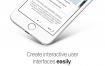 让你轻松创建交互式用户界面iOS UI界面设计原型,提供sketch格式的ui设计素材下载