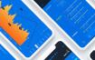 数字加密货币,比特币,股票等ui设计元素UI界面设计工具包iOS系统素材下载,提供sketch源文件下载