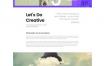 完整的创意PSD模板素材,包括的页面:主页,关于,联系人,错误404,全屏菜单,注册,上市博客,单个博客,等素材下载