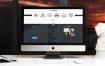 10款高质量iMac展示模型样机素材PSD素材源文件下载