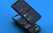 45个iPhone X界面和45个iPhone 8界面不同分辨率的ui设计素材下载,提供sketch格式素材源文件