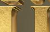 8款奢华黄金钻石质感3D字体智能图层PSD源文件 -资源大小934MB,包含8个PSD源文件
