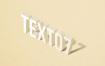 怀旧风格3D字体样式样机模板PSD分层素材