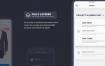 44个界面2种配色风格的时尚电商app界面设计素材下载(含PSD和sketch源文件)