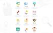 100+款网页模板web网页设计素材PSD源文件打包下载