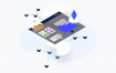 8款精品比特币区块链Blockchain概念等距插图插画矢量素材下载(含eps和sketch源文件)