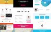 10个简约大气的企业网页设计模板素材下载(含PSD源文件)