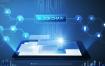 19款科技企业大数据蓝色背景互联网宣传海报展板psd模板设计