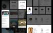 100+个简洁的企业网站UI源文件设计精品素材下载
