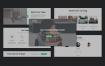 超过160多个组件的简洁的企业网站UI源文件设计精品素材下载
