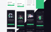 超级清爽的240+界面美食食品快递外卖UI设计素材下载工具包(提供Sketch和XD格式源文件)