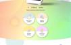 11款移动APP科技科学现代产品介绍网页PSD模板素材