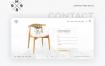 26个页面时尚家居网页模板打包下载PSD素材源文件