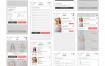 时尚小清新的电子商务用户界面ui设计素材下载,提供psd格式的源文件下载