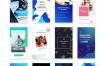 18个独特网络广告banner设计优质设计素材下载(提供PSD格式源文件)