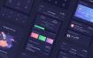 80个完整的财务理财资金app设计优质设计素材下载(提供Sketch和Adobe XD格式下载)