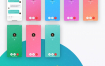 100个完整的社交聊天应用app界面设计优质设计素材下载(提供Sketch格式下载)