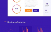 7款电商网页背景几何图形渐变舞台空间感装饰PSD分层设计素材