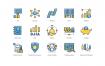 55个投资图标设计素材下载