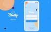 简洁的app移动界面UI工具包设计素材下载(提供Adobe XD格式下载)