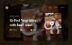 现代优秀的网站大图banner主图设计素材下载(提供Adobe XD格式下载)