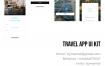 旅行和预订应用UI设计AP界面设计优质设计素材下载(提供Sketch和Adobe XD格式下载)