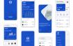 30多个金融钱包银行信用卡app界面ui设计素材下载