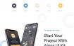 40多个现代化的综合用户界面App UI工具包优质设计素材下载(提供Sketch和Adobe XD格式下载)
