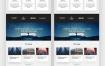 简洁网页设计Web UI工具包设计素材下载(提供PSD和XD格式源文件)