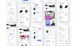 50个简洁纯净电子商务用户界面优质设计素材下载