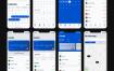 银行数字钱包项目用户界面ui设计工具包优质设计素材下载(提供Sketch格式下载)