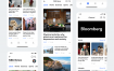 20个高品质的新闻信息模板app界面UI设计素材下载