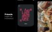 30多个基于人工智能的面部识别iOS约会应用app界面ui设计素材下载