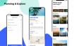 35个共享你的旅程行程规划旅游面试作品优质#ui设计素材#下载(提供Sketch和Adobe XD格式下载)