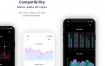 50多个高级图表ChartMaster后台应用包含暗黑模式的 iOS的UI套件优质设计素材下载(提供Sketch和Adobe XD格式下载)
