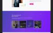 人工智能代理网页设计优质#ui设计素材#下载