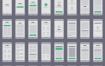 296张流程图卡完美的UX原型图优质设计素材下载