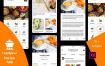 美食FoodPlus食谱毕业设计面试ui界面源文件素材下载(提供Adobe XD格式源文件)