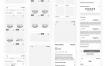45个电子商务套件线框原型设计源文件素材下载(提供XD和sketch格式源文件)