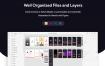 60个iPhone X界面设计带暗黑模式瑜珈UI工具包源文件设计素材下载(提供PSD、XD和sketch格式源文件)