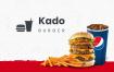 30多个自助服务餐厅订餐汉堡UI工具包源文件下载(提供sketch格式源文件)