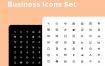 64个商业象形业务图标设置素材下载
