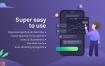 180多个项目预算交易跟踪移动应用UI工具包优质设计素材下载
