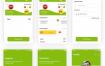 15个清爽电商商店应用程序UI设计素材源文件下载(提供Adobe XD格式源文件)